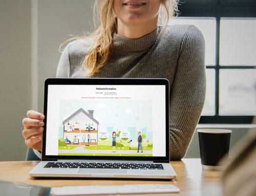 Falck lancerer ny hjemmeside for patienter