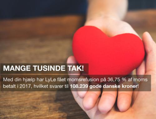 108.239 gode danske kroner i refusion!
