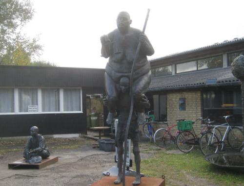 Odense-gruppens besøg på Galleri Galschiøt
